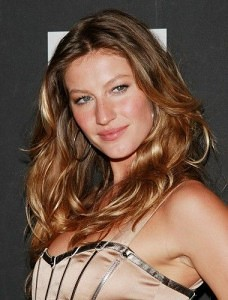 ombre lights hair gisele