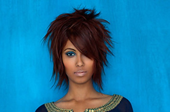 Hair Color : pre-lightened to the highest level then toned to create a ...