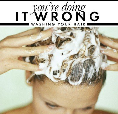 washing your hair