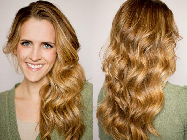 7 flat iron curls